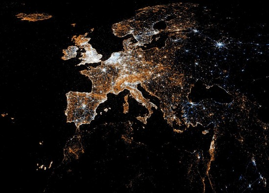 europe-at-night