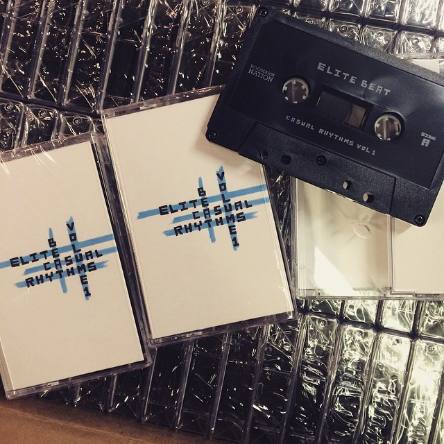 Coming soon!! A 30 minute cassette only release of hypnotic, dubbed out - casual rhythms from the great northwest. Recorded and mixed live by the Elite Beat, an elusive 6 piece ensemble from PDX! Catch them live in PDX tonight at The High Dive 10pm-1am! #boomarmbizz